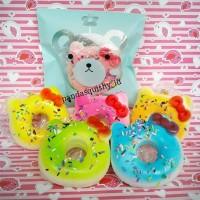 Squishy Medium Donat Hello Kitty - Squishy Donut HK Slow Meises