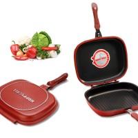 BEST PRODUK Panci DOUBLE PAN HAPPYCALL Multifungsi 32cm Teflon Jumbo