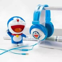Jual headphone bando karakter headset bando doraemon hellokitty jumbo Top Murah