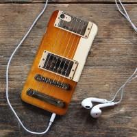 Jual Gitar wood Iphone 6 7 5 Xiaomi Redmi Note F1S OPPO s6 s7 Murah