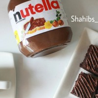 Nutella Fudgy Brownies