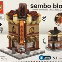 Sembo Block Cinema lighting 218pcs