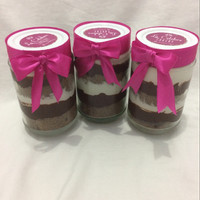 Jual cake in jar chocolate Murah