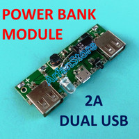 Module Power Bank Board 5V 2A Charging Battery 18650 3.7V Dual USB