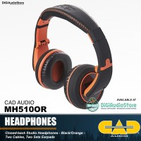 CAD MH510OR Personal Headphone Monitor for Live DJ & Studio Recording
