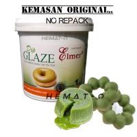 Jual Elmer Spread / Dip Glaze GREEN TEA Kemasan ORIGINAL 1 Kg (NO Repack) Murah