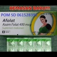 Afolat 400mcg (Asam Folat) - Suplemen & Vitamin Ibu Hamil