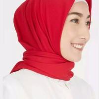 hijab style/segi empat/square/diamond crepe