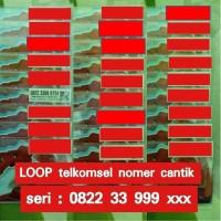 LOOP nomer cantik rapih ! kartu perdana telkomsel (as, loop, simpati)
