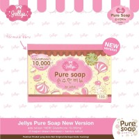 Jellys Soap / Pure Soap By Jellys / Original Thailand 100%