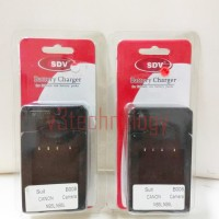 SDV Charger B-008 - For Battery Canon NB5L - NB6L