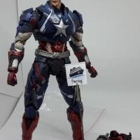 Playarts Kai Captain America PAK play arts kai Marvel Ori Reject