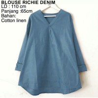 BLOUSE RICHIE DENIM