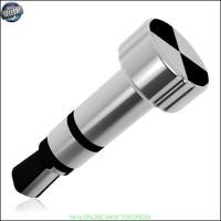 Mehone IR remote control 3.5mm Plug iphone dan ipad - Silver Y2960