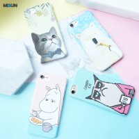 Animal Pastel Case - Hardcase - Full print 4 gambar iphone 5 6 6+ 7 7+