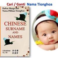 Jual CHINESE NAME DAN SURNAME Murah