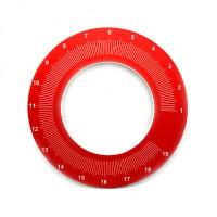 MAHLKONIG EK43 Micrometric Retina Dial PVC V1 Red