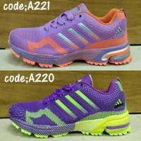 sepatu wanita adidas marathon tr 15 running, olahraga, dan gaul