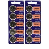 Jual Baterai Kancing (Button Cell) Lithium Sony CR2025 Murah