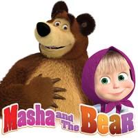 Film Seri DVD Animasi Masya & The Bear Episiode 1 - 10