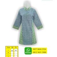 Desain Baju Batik Modern, Butik Baju Batik, Baju Batik Wanita, SMBKA3