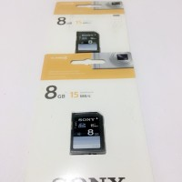 SDHC Memory Card Sony 8Gb