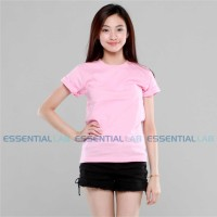 Essential Lab - Basic T-Shirt (Baby Pink)