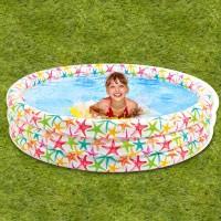 Intex 56440 Realistic Star Fish Pool [168cm X 38cm ]/ Kolam Anak Besar