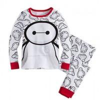 Jual Baju tidur anak laki-laki/Piyama Boy GAP Hongkong Baymax White Murah
