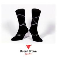 Kaos Kaki Pria Kasual Casual Nyaman Katun Robert Brown (7853) Socks
