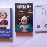 Jual Paket Kartu AR Islami Hijaiyah 4D dan AR Sholat 3D Gg. 7 Murah