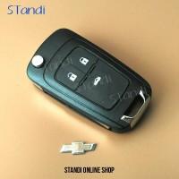 Casing Kunci Lipat Flip Key Chevrolet Spin Orlando Trax Cruze Aveo