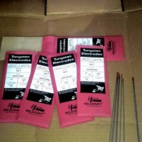 Jarum Tungsten electrodes 1.6mm weldcraft original not lakoni Rhino