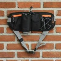 Jual Tas pinggang, tas sepeda sport original EIBAG 1524 hitam Murah