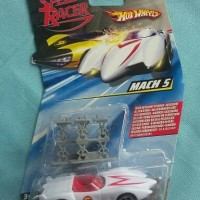 hot wheels speed racer mach 5 1/64 hotwheels hw