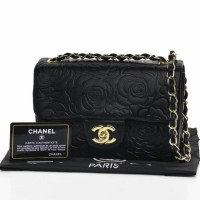 CHANEL CAMELLIA FLAP BAG JB3108