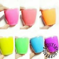 Jual neon gummy slime (200 gram /200 cc) Murah