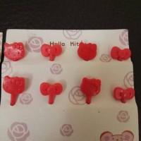 Tusuk Hello Kitty Sanrio food picks food pick tusuk buah