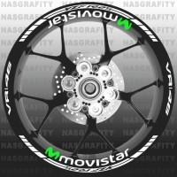 stiker velg yamaha R25 Movistar VR 46