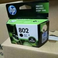 HP Catridge 802 Black XL /Tinta Printer HP 802 Hitam