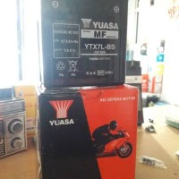 Aki motor Yuasa YTX7L-BS untuk Yamaha R25, CBR 250, dll
