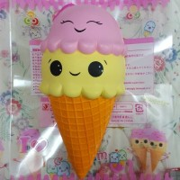 Squishy Super Jumbo Ice Cream Cute Funny licensed by Sunny Squishy