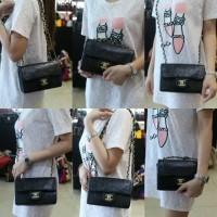 Chanel Camellia Flap Bag /Tas wanita murah import branded Kerennnn