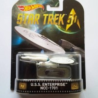 Hot Wheels / Hotwheels Retro Star Trek U.S.S. Enterprise NCC-1701
