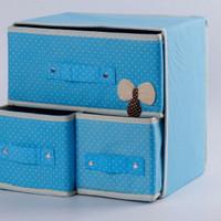 MH00317 Laci Multifungsi / Box Organizer / 3 in 1 Storage Drawer