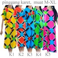 Jual setelan baju tidur daster batik celana kulot baju santai K1K2K3K4K5 Murah