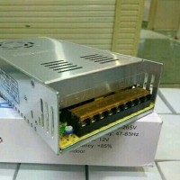 Power Supply 12V 30A Jaring Murah Awet Switching Trafo