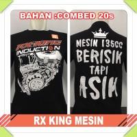 Kaos Pakaian Pria Favorite Motogp RX-KING MESIN balap/balapan