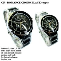 harga Jam Tangan Chanel Ring Couple Pasangan Hitam Tokopedia.com