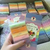 Harga original thailand fruitamin soap 10 in 1 wink | antitipu.com